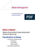 Revised Solid Waste Management
