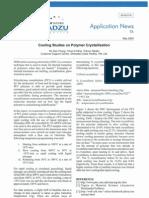 AD0010TA Cooling Studies on Polymer Crystallisation