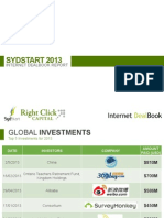 Sydstart 2013 Internet Dealbook Report