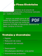 Contratos y Firma Electronica