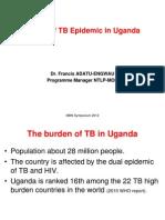 Francis Adatu_Status of TB Epidemic in Uganda