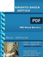 Tratamiento del Shock Septico en pediatria