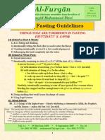 Basic Fasting Guide