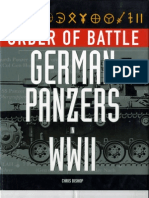 Order of Battle-German Panzers in WWII