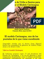 La Herencia de Uribe a Santos Para Desarrollar El Modelo Carimagua