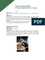 Comida Tipica Mapuche