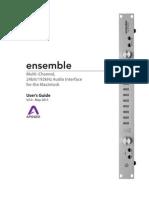 Ensemble Usersguide
