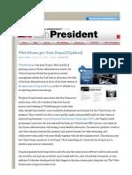 WhiteHouse.gov Goes Drupal [Updated]