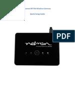 3G Netman Router Setup