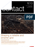 ABB Contact 1/13 Egypt - Grid Reliability
