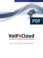 VoIP call rates comparisons