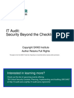 Auditing Data Center Access Control System Independent Auditors Perspective 68[1]