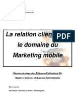 Relation Client Marketingmobile
