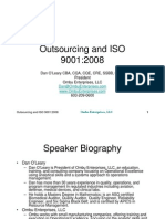Outsourcing and ISO 9001[1]