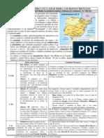 4. La Peninsula Ibérica en la Edad Media. Los reinos cristianos.