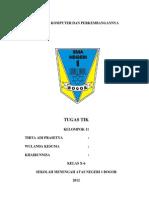 contoh tugas laporan Tik