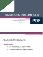 Filariasis Non Limfatik