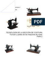 2 -Tecnologia Del Sector Costura 2 Funcion y Partes