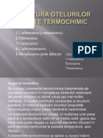 Structura Otelurilor Tratate Termochimic