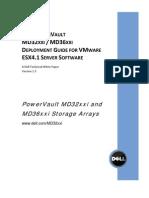 VMware ESX 4.1 - MD3220i Deployment Guide