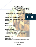 Proyecto de Ciencia y Tecnología