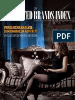 iCrossing   Der Connected Brands Index - Luxusmodemarken in Europa