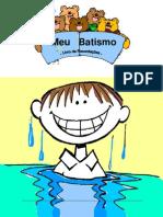 Livro de Batismo Menino