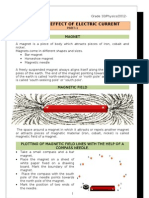 10 2011 2012 Magnetic Effect of Electric Current Notes 1