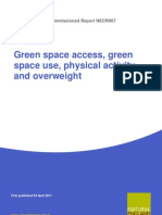 Green Space Access Use Physical Activity Overweight Ne