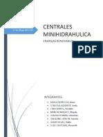 Trabajo de Minicentral