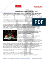 30 years of Dissidenten (group) - on tour in 2011 with Manickam Yogeswaran (vocal/Kanjira)