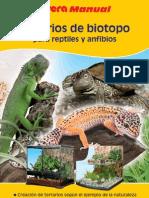 Terrarios de Biotopo Para Reptiles y Anfibios