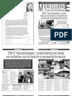 Versión impresa del periódico El mexiquense 27 mayo 2013