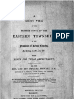A short view of the present state of the Eastern Townships by Charles Stewart 1815