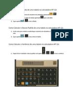 Como Calcular a Média, Desvio Padrão e Variância na HP 12c