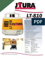 Futtura LT 810 A4 REU Flyer