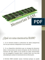 Memorias RAM Vhdl