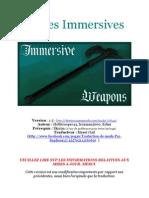 Armes Immersives