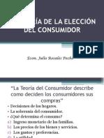 LA TEORÍA DE LA ELECCIÓN DEL CONSUMIDOR