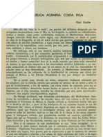 Gache. Paul - Una República agraria Costa Rica