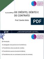 Aula 07 Cessao de Credito Debito e de Contrato