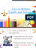 4 Ways to Balance Family and School 2003