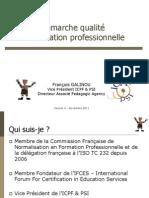 Demarche Qualite en Formation Decembre 11 PDF