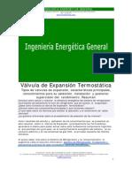 Valvula Expansion