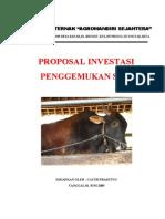 Proposal Bisnis Ternak Sapi Potong