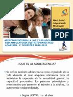 Atencion Adolescentes 2010-2012