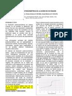 DETERMINACION POTENCIOMETRICA DE LA ACIDEZ DE UN VINAGRE.docx