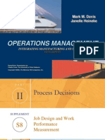 Job Design and Work Measurement Ch08s