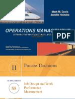 Job Design and Work Measurement Ch08s