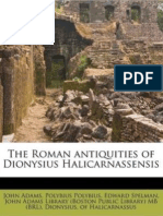 The Roman Antiquities of Dionysius Halicarnassensis VOL 3; Trans Spelman 1758